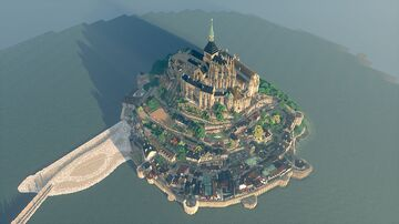 Mont Saint-Michel Minecraft Map & Project