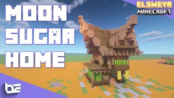 Moon Sugar Home (Sugar Cane) - The Elder Scrolls Minecraft Map & Project