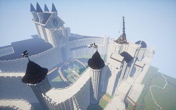 Anorien castle (LOTR) Minecraft Map & Project