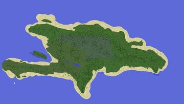 Minecraft Earth Map Caribbean | Haiti + Dominic Republic | 1.12.2 Minecraft Map & Project