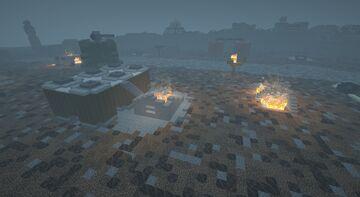 Warhammer 40k battlefield Minecraft Map & Project