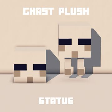 ~ Ghast Statue ~ Minecraft Map & Project