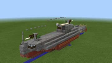 1.5:1 scale G-5 Class Motor Torpedo Boat Minecraft Map & Project