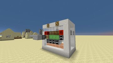 Schematica pig/chicken/sheep/cow farm (Sell Block) Minecraft Map & Project