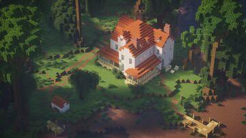 Riverside House - Louisiana 1890 (1:1 scale) Minecraft Map & Project