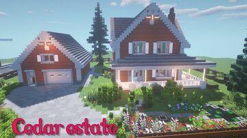 Cedar estate - interior-decorators contest entry Minecraft Map & Project