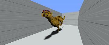 Cheetah running Minecraft Map & Project