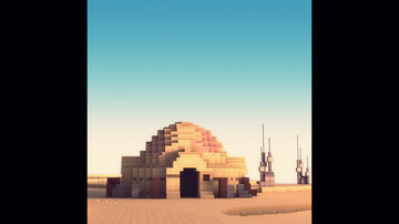 Tatooine Homestead Minecraft Map & Project