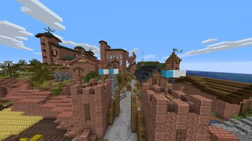 Colinas Medieval City 1.16 Minecraft Map & Project