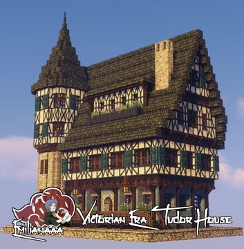 Victorian Era Tudor House #5 Minecraft Map & Project
