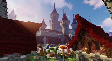 [Lost Map..] Fantasy Medieval City Minecraft Map & Project