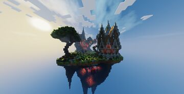 Skyblock Style Lobby by AdamsKg + Download Minecraft Map & Project