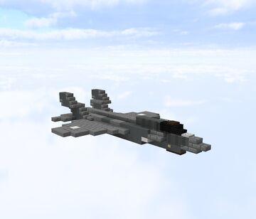Lockheed Martin F-35b Lightning II Minecraft Map & Project
