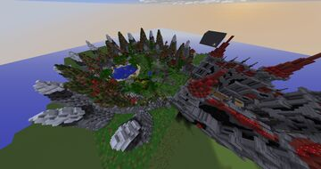 Kit PvP map 1.8 Minecraft Map & Project