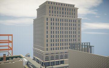Coca Cola Company Building Minecraft Map & Project