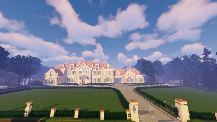 Popular Server Map : French Provincial Mansion by: DocSMasH