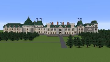The Phantomhive Estate. A better manor. Minecraft Map & Project