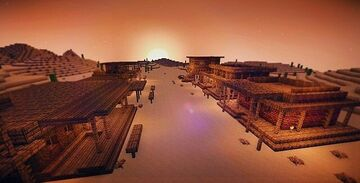 Wild Western Town Minecraft Map & Project