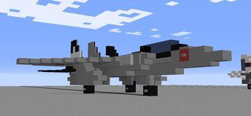1.5:1 F-15DJ 'Eagle' Minecraft Map & Project