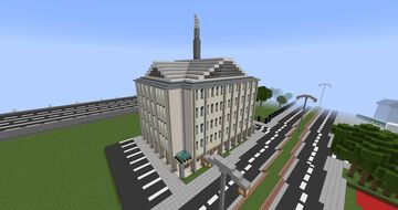 modern apartment and shops Minecraft Map & Project