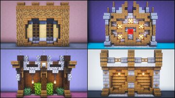 5 Walls Build Hacks and Ideas Minecraft Map & Project
