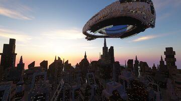 StarGate Ori Ship Advent Shine City Minecraft Map & Project