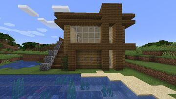 Home For Beginners / Casa Para Iniciantes Minecraft Map & Project