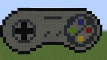 Control de SNES Minecraft Map & Project