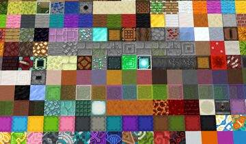 Every full block in Minecraft, colour coded for you Minecraft Map & Project