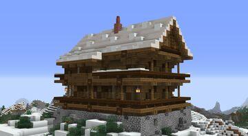 Berghütte - mountain hut Minecraft Map & Project