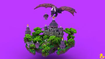Violet Sky Spawn Minecraft Map & Project