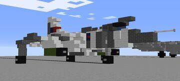 1.5:1 Hawker Siddeley Harrier Gr.3 'Flaklands' Minecraft Map & Project