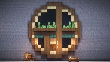 Minecraft : How to build a mountain house Minecraft Map & Project