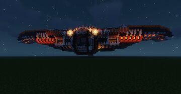 SpaceshipX, beta1 Minecraft Map & Project