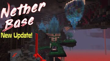 Nether Base (Entry) Minecraft Map & Project