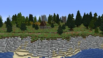 Medieval Farming Village Minecraft Map & Project
