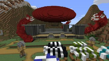 Towny arena Minecraft Map & Project