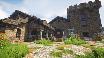 Medieval winery Minecraft Map & Project