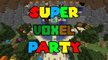 Super Voxel Party! (Multiplayer Mario Party game!) Minecraft Map & Project