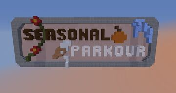 Chill Seasonal Parkour Minecraft Map & Project