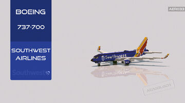Boeing 737-700 Southwest Airlines [+Download] Minecraft Map & Project