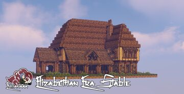 Elizabethan Era Stable Minecraft Map & Project
