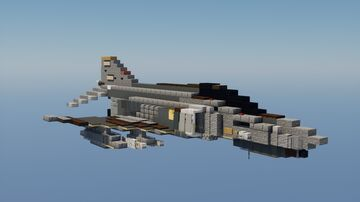 F-4E Phantom II Minecraft Map & Project