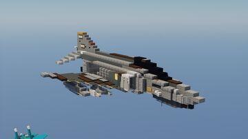 F-4E Phantom II Minecraft Map & Project