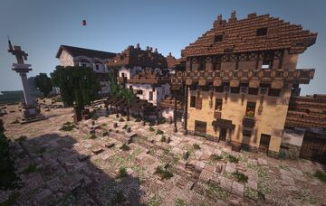 Project Fratis: A Decadent Roman society Minecraft Map & Project