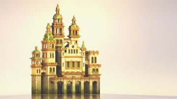 Mossy Castle Minecraft Map & Project