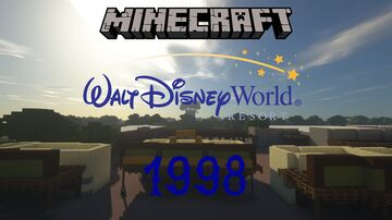 Walt Disney World 1998 Minecraft Map & Project
