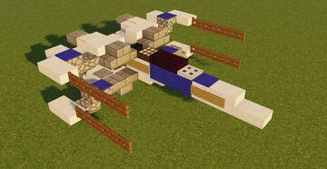 Star Wars Star Wars T-70 X-wing Starfighter Minecraft Map & Project