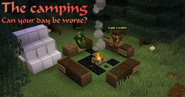The Camping [BETA] Minecraft Map & Project