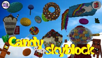 Candy Skyblock Minecraft Map & Project